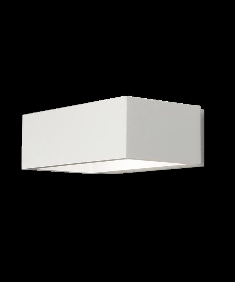 brick led wandleuchte wei light point. Black Bedroom Furniture Sets. Home Design Ideas