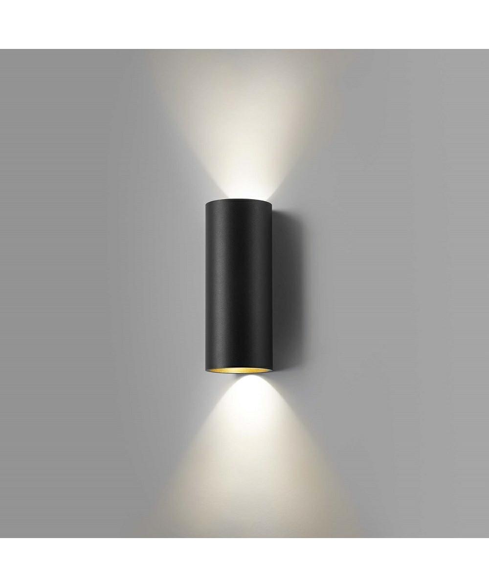 zero w2 wandleuchte schwarz gold light point. Black Bedroom Furniture Sets. Home Design Ideas