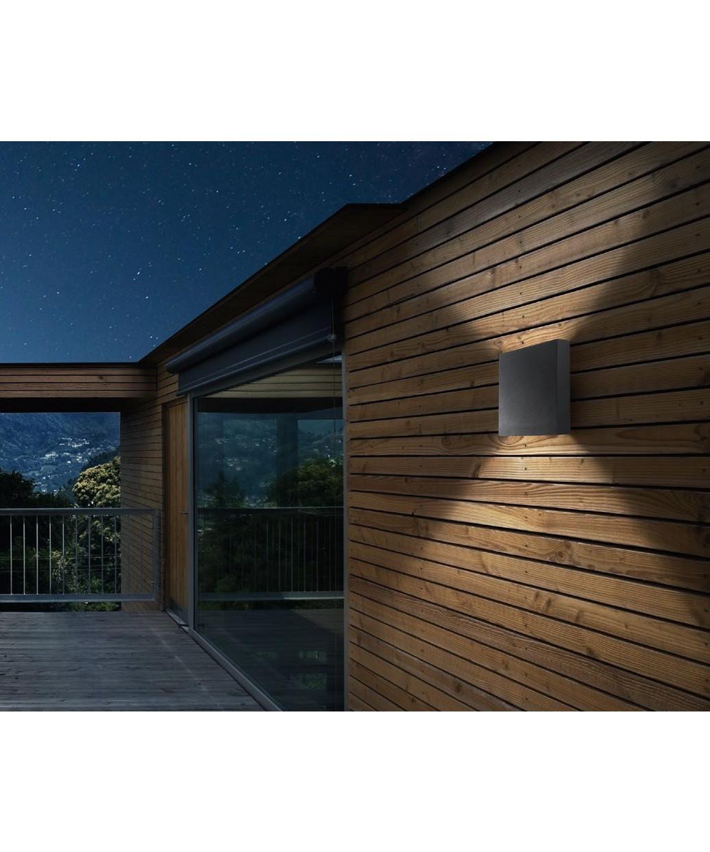 Compact W2 LED Væglampe Sort - LIGHT-POINT