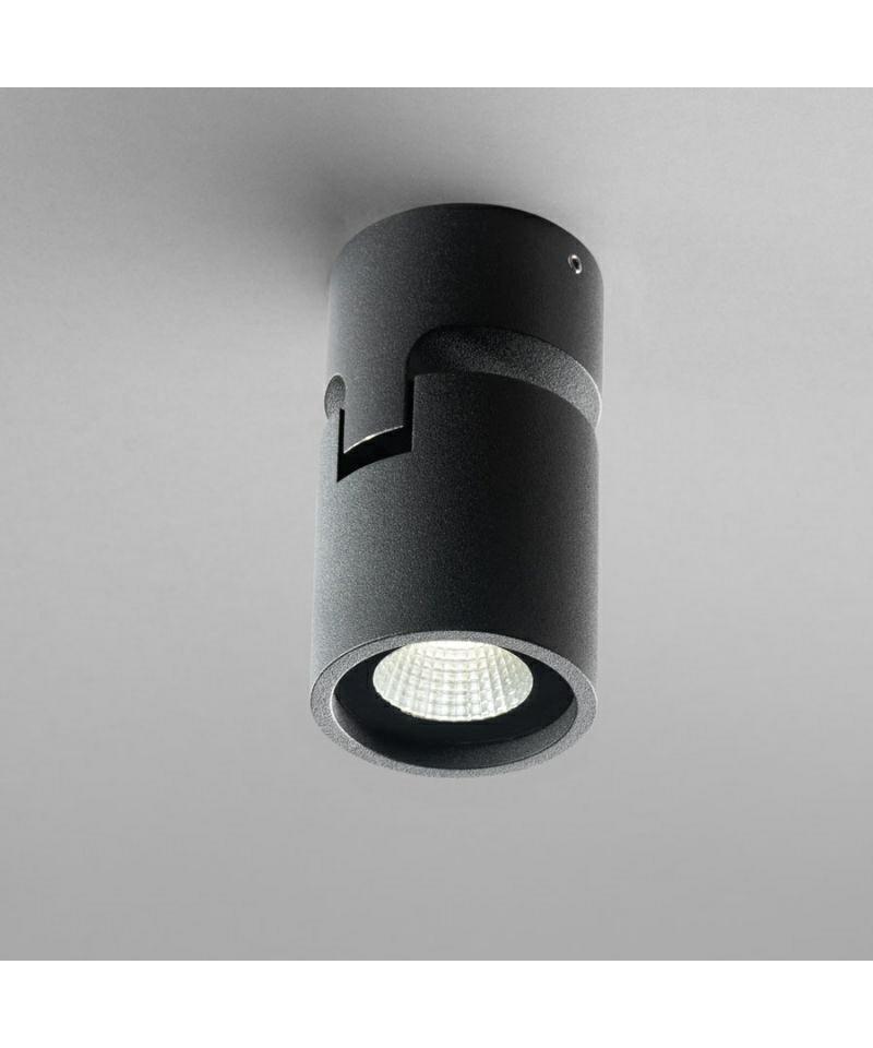 Tip 1 deckenleuchte led schwarz light point for Deckenleuchte led schwarz