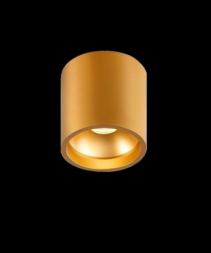 Solo rund deckenleuchte gold light point for Deckenleuchte gold