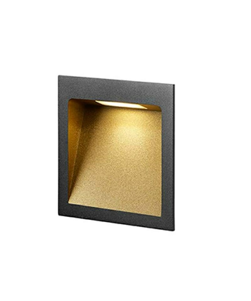 deli 2 wandleuchte schwarz gold light point. Black Bedroom Furniture Sets. Home Design Ideas