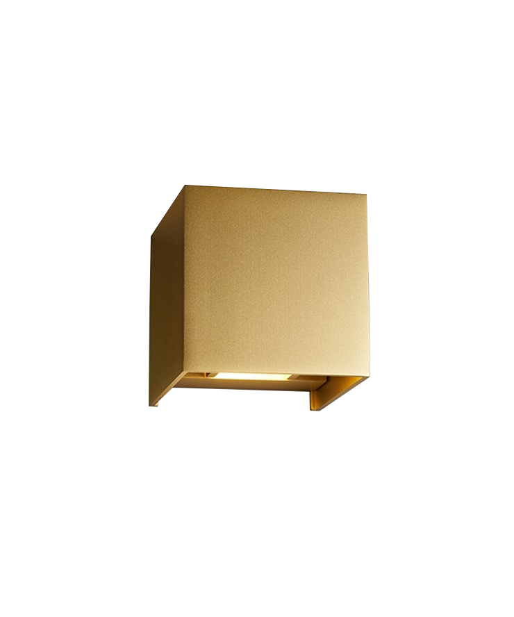box up down wandleuchte gold light point. Black Bedroom Furniture Sets. Home Design Ideas