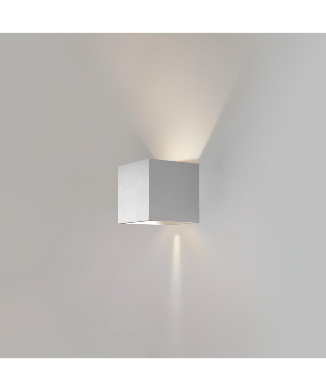Box Mini Up/Down Væglampe Hvid - LIGHT-POINT