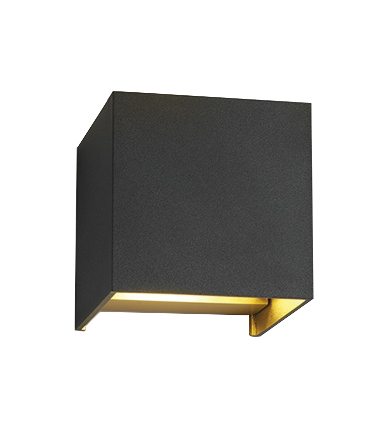 box xl wandleuchte schwarz gold light point. Black Bedroom Furniture Sets. Home Design Ideas