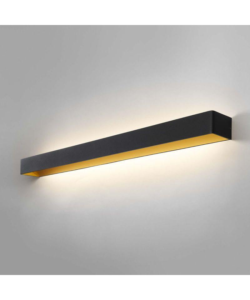 Mood 4 LED Vegglampe Svart/Gull - LIGHT-POINT