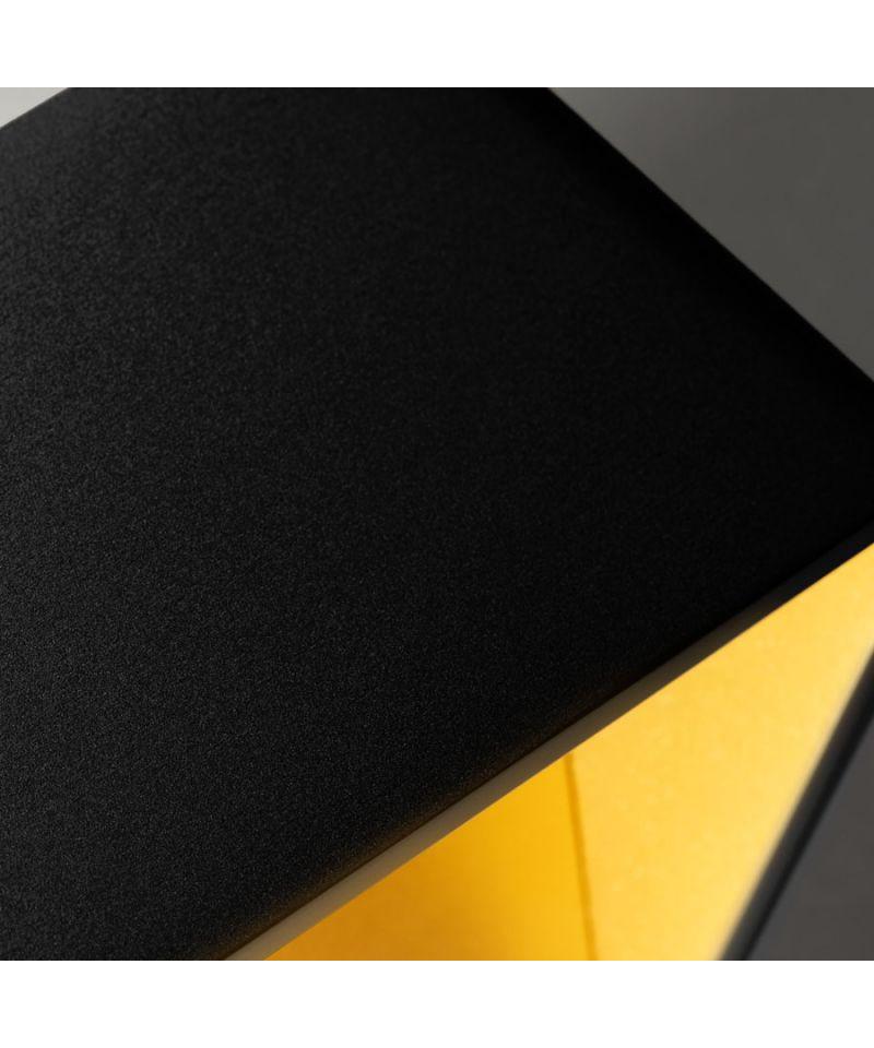 mood 4 led wandleuchte schwarz gold light point. Black Bedroom Furniture Sets. Home Design Ideas