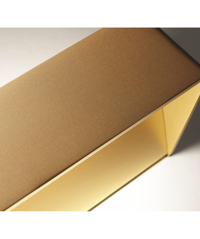 Mood 4 led væglampe guld