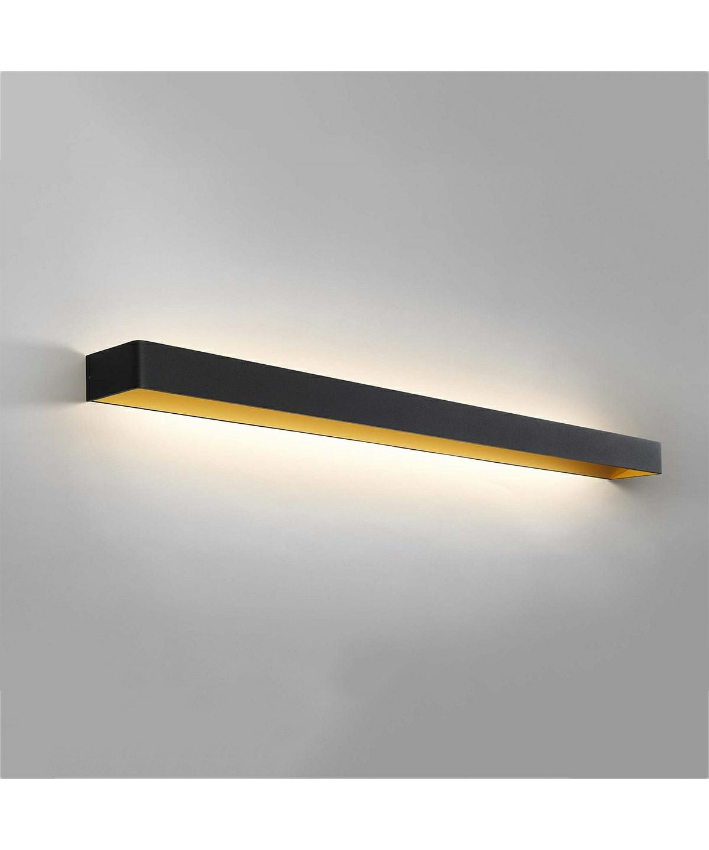 mood 5 wandleuchte schwarz gold light point. Black Bedroom Furniture Sets. Home Design Ideas