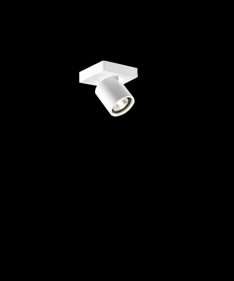 Focus mini 1 loftlampe hvid