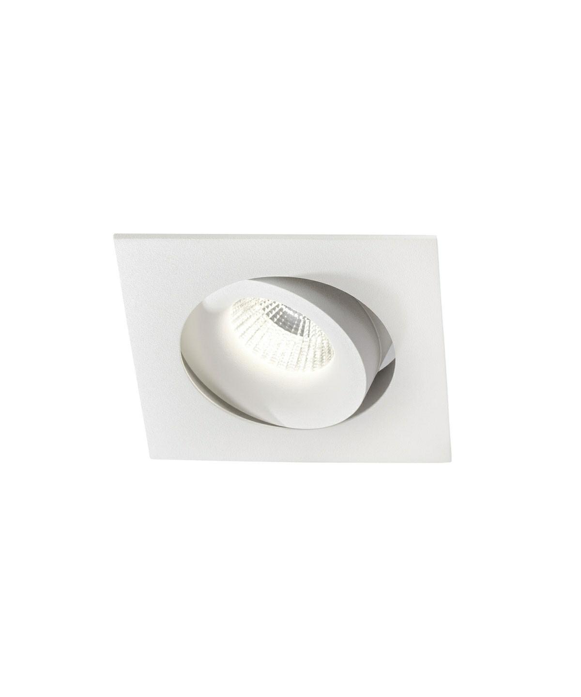 Logic square loftlampe hvid