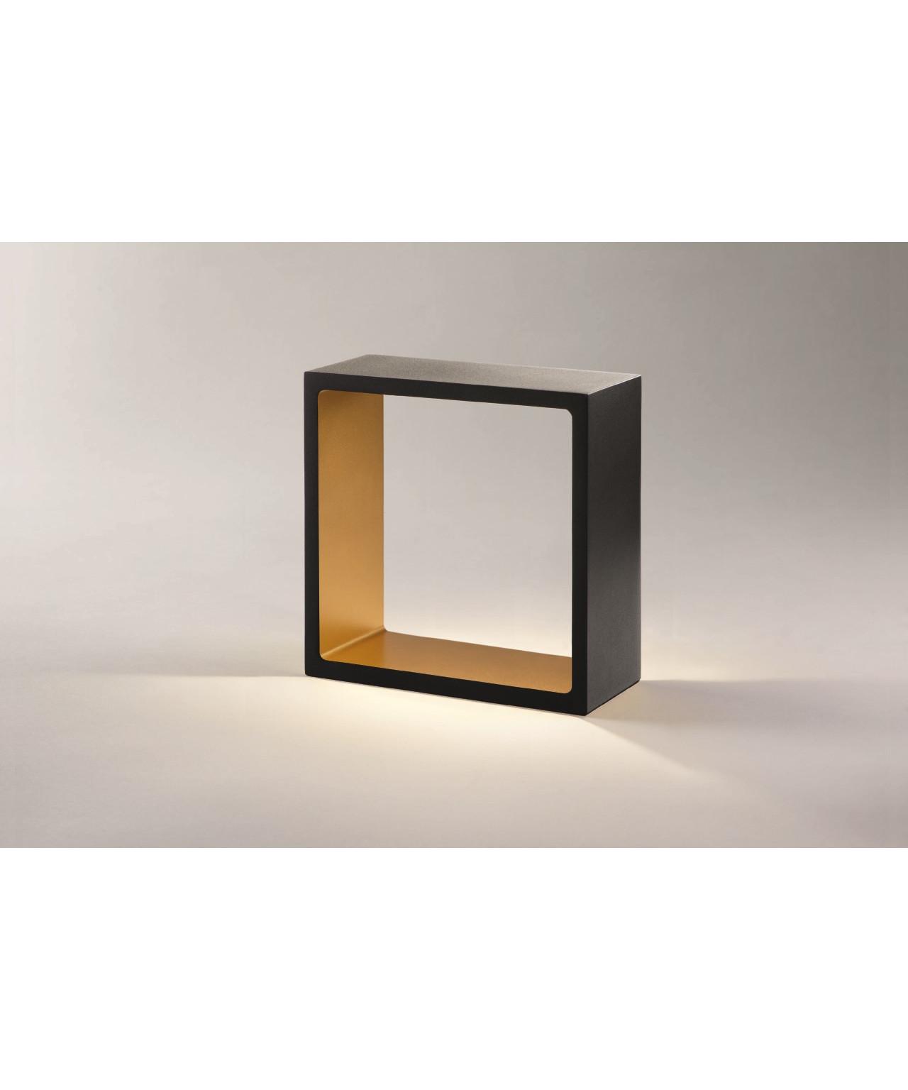 fusion led tischleuchte schwarz gold light point. Black Bedroom Furniture Sets. Home Design Ideas