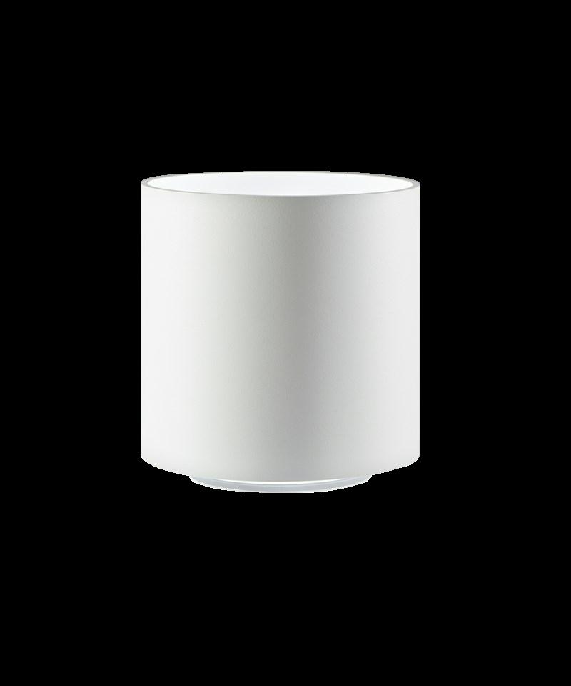 Cozy round bordlampe hvid