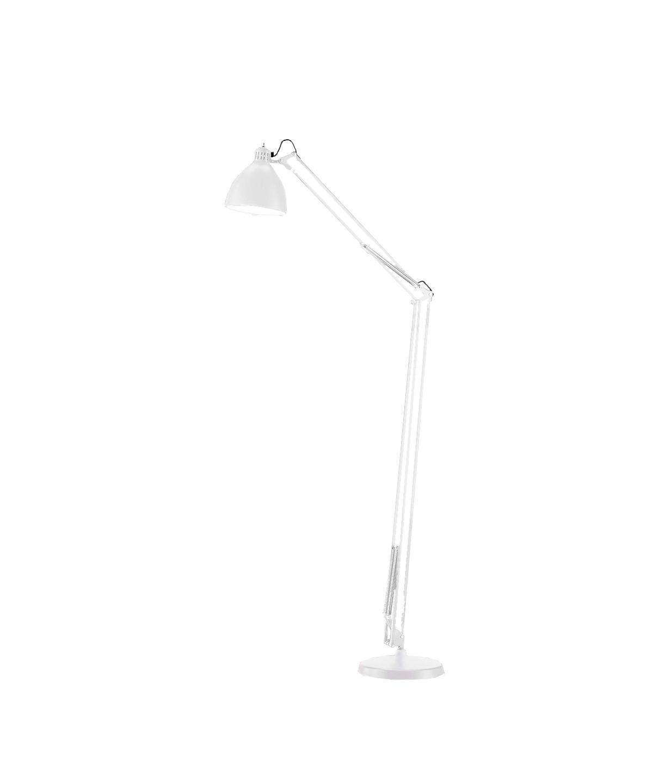 Design  Ronni Gol for Light Point  Koncept  Et designikon og et stykke historie, som spænder over generationer, hvor Archi F1 gulvlampe har oplyst alt fra arbejdsborde til læsehjørnet i hjemmet. Archi F1 gulvlampe - her i mat hvid - kan også vælges i mat sort og sort/guld.  Derudover findes flere forskellige bordlamper at vælge imellem - samt væglamper, pendler og gulvlamper.  Archi F1 gulvlampen erstatter den tidligere JJ lampeserie. Samme høje kvalitet.