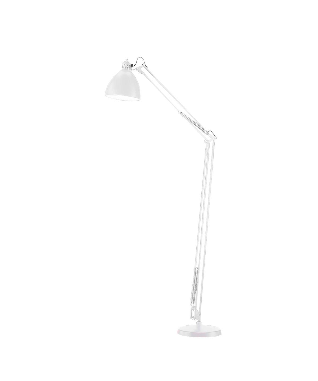 Design  Ronni Gol for Light Point  Koncept  Et designikon og et stykke historie, som spænder over generationer, hvor Archi F2 gulvlampe har oplyst alt fra arbejdsborde til læsehjørnet i hjemmet.  Archi F2 gulvlampe - her i mat hvid - kan også vælges i sort/guld og mat sort.  Derudover findes flere forskellige bordlamper at vælge imellem - samt væglamper, pendler og gulvlamper.  Archi F2 gulvlampen erstatter den tidligere JJ lampeserie. Samme høje kvalitet.