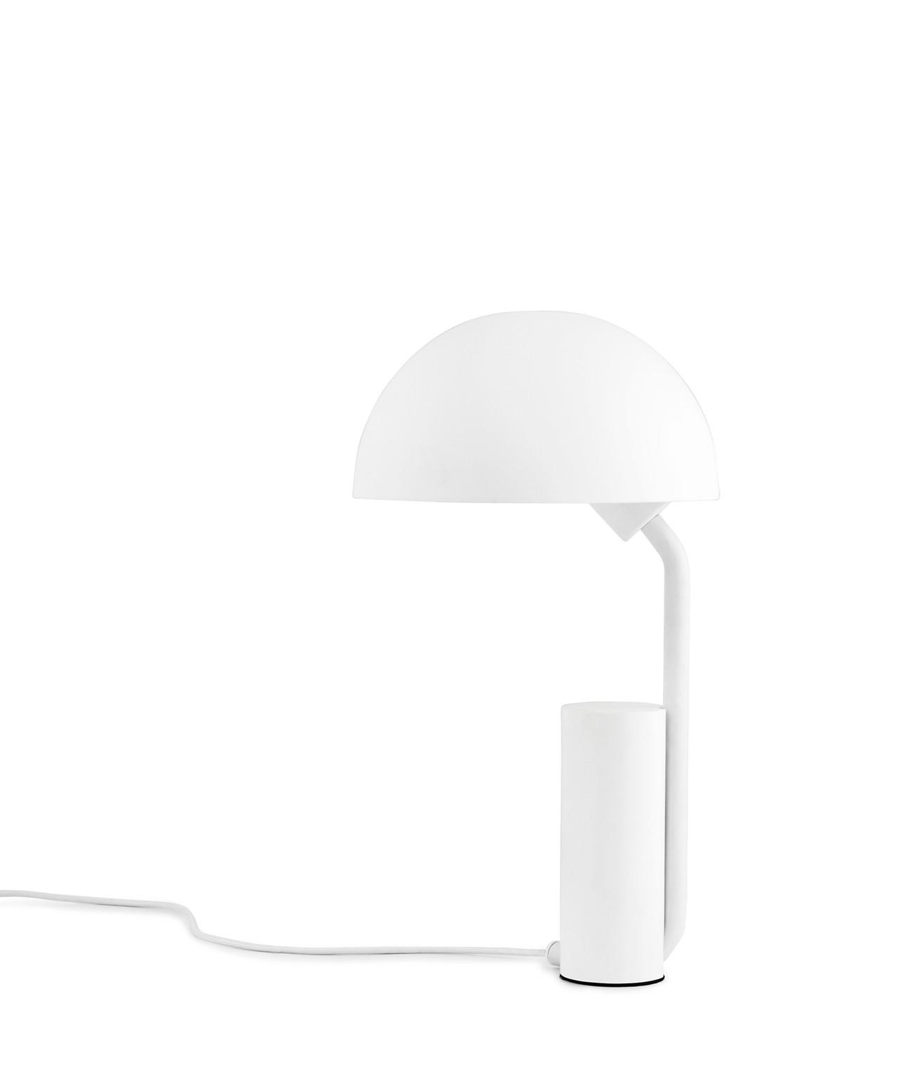 Cap Bordlampe Hvid Normann