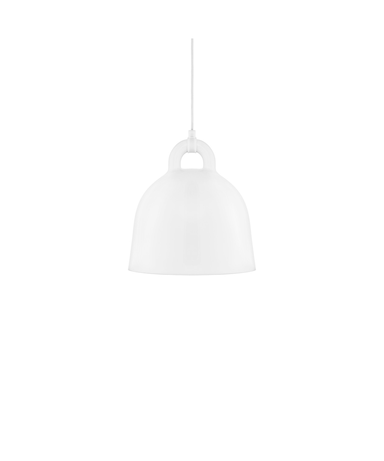 Bell pendel small hvid