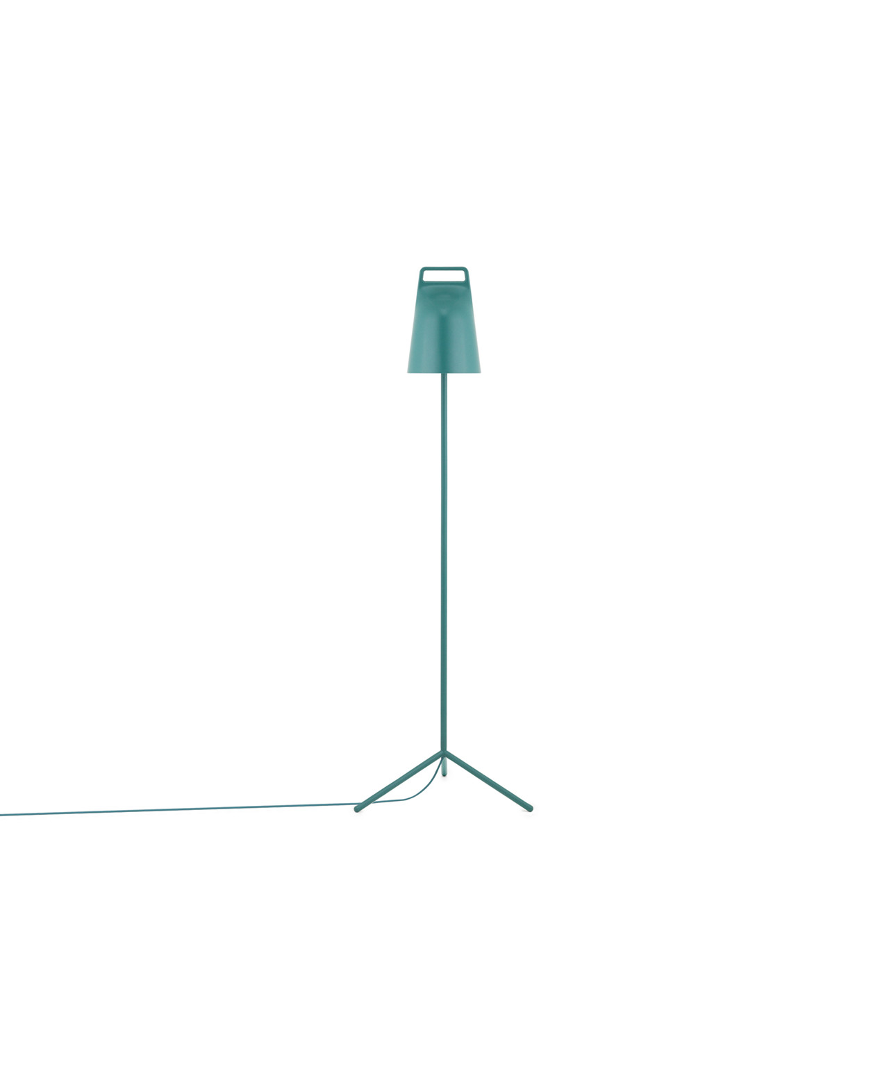 Stage gulvlampe petrol grøn