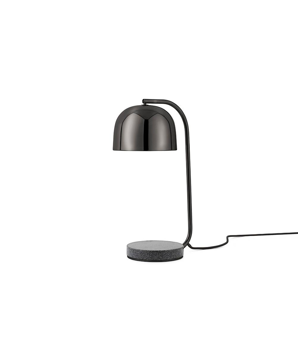 Grant bordlampe sort