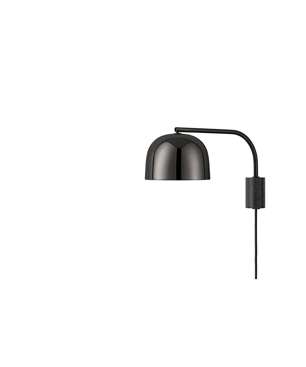 Grant væglampe lamp 43 cm sort