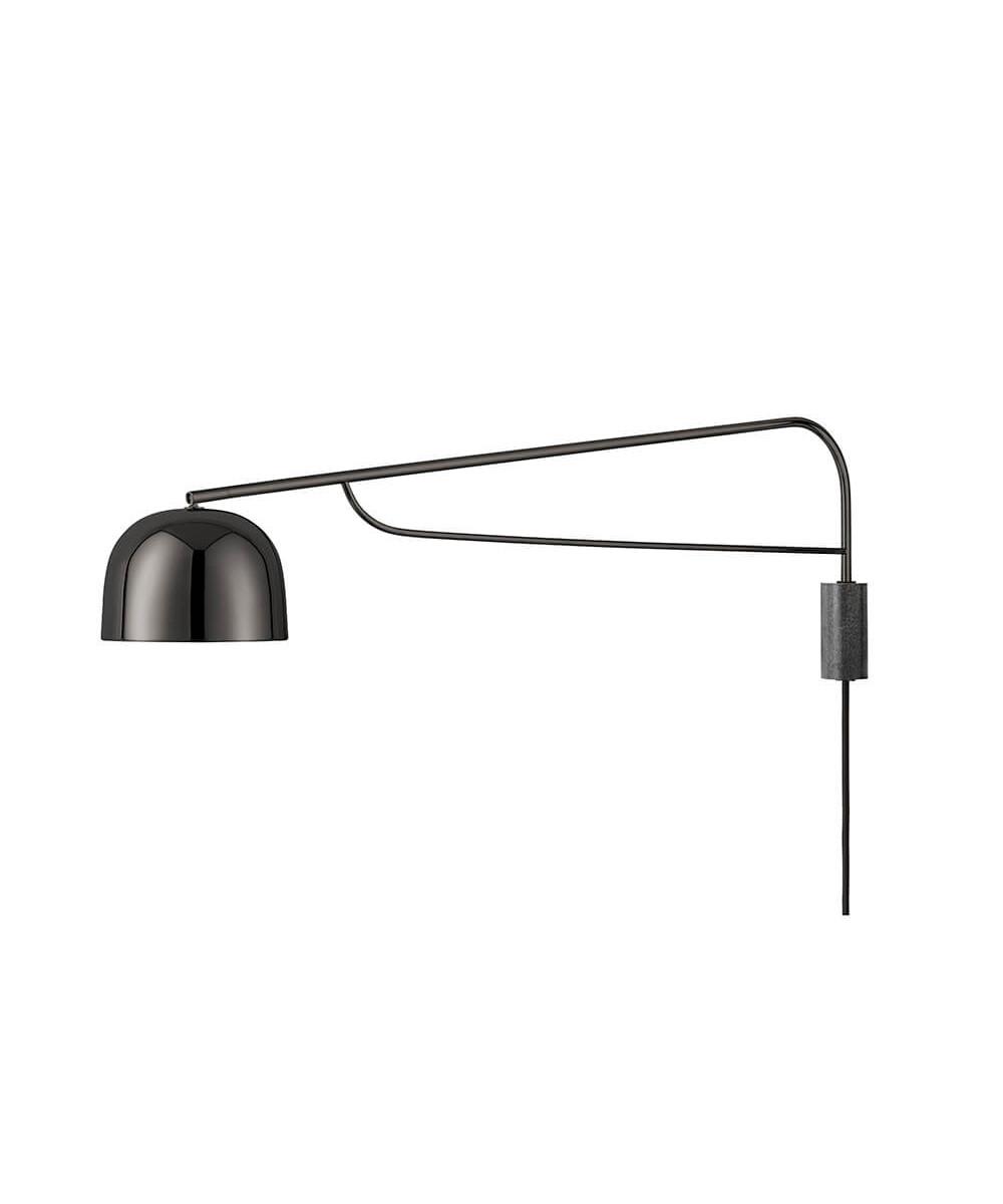 Grant væglampe lamp 111 cm sort