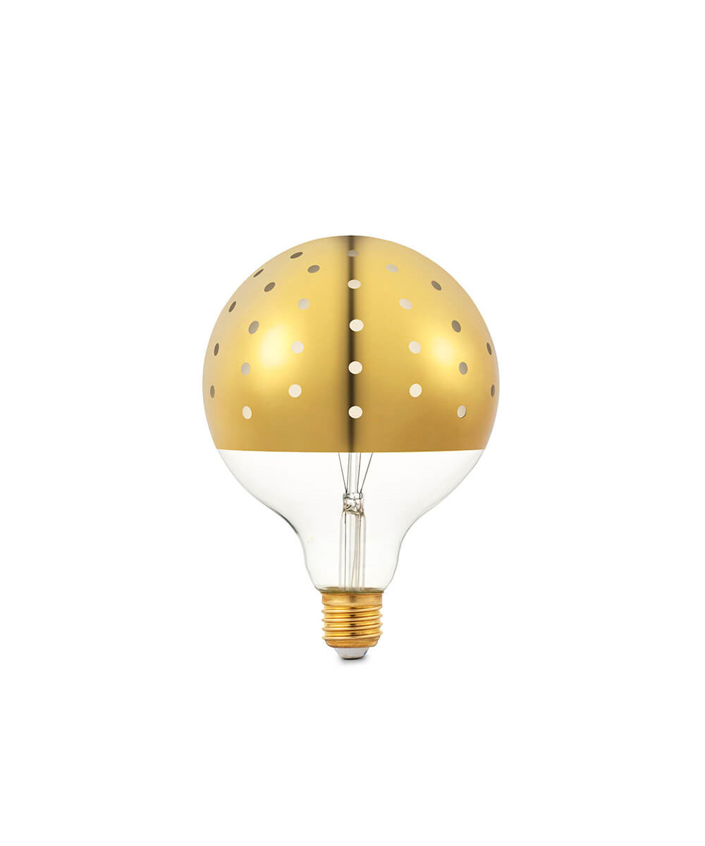 Image of   Dot Bulb Pære Gold - Tivoli by Normann Copenhagen