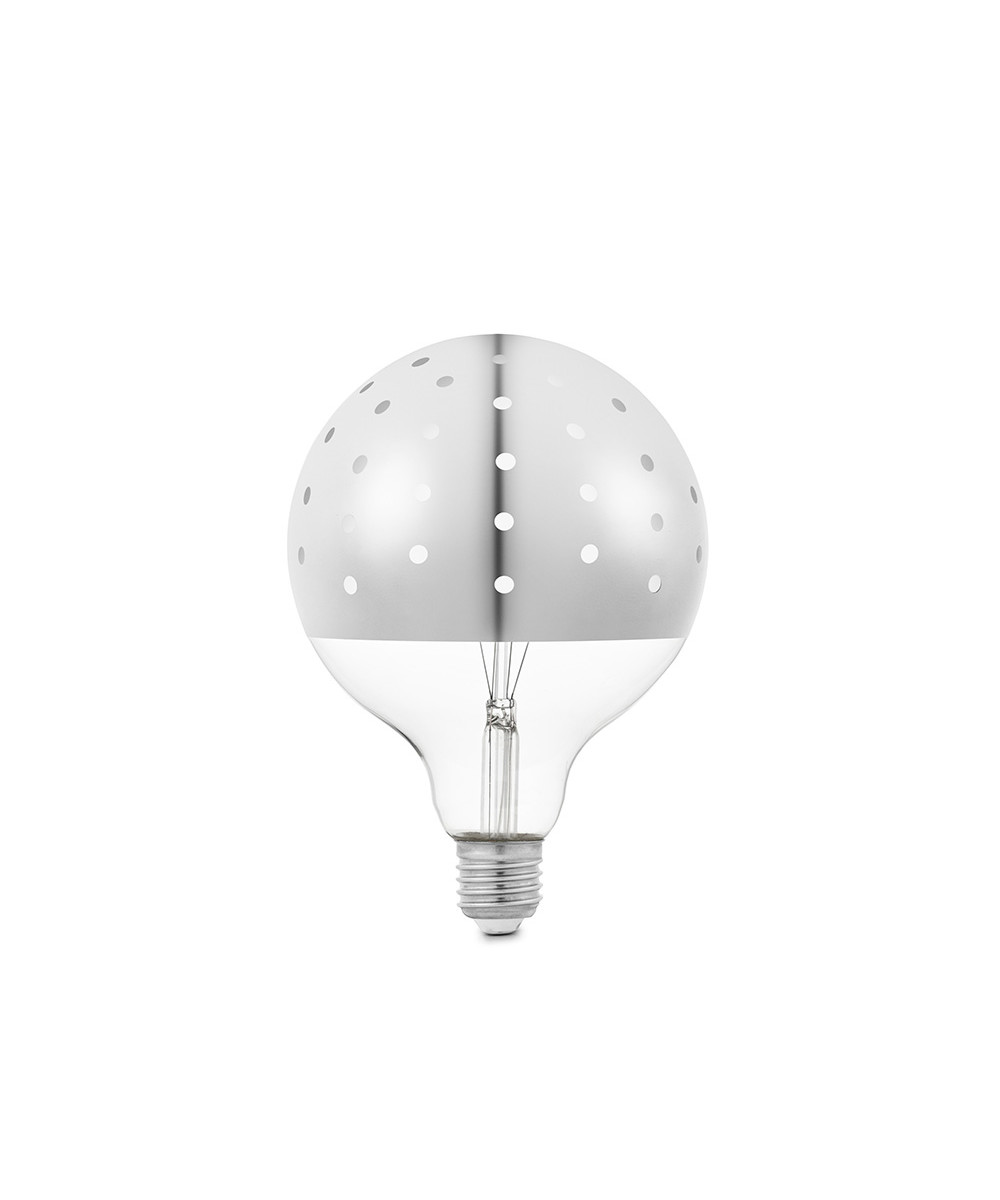 Image of   Dot Bulb Pære Silver - Tivoli by Normann Copenhagen