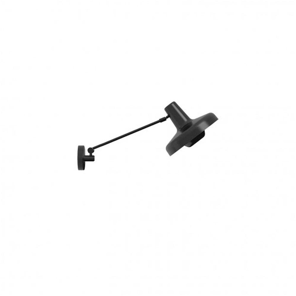 Arigato væglampe short m/kabel sort