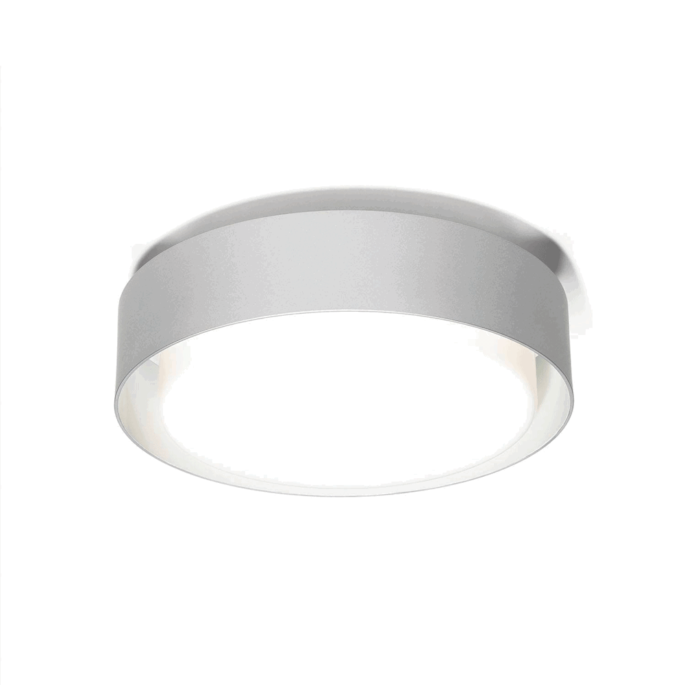 Plaff-On Væglampe/Loftlampe Ø50 Grå - Marset