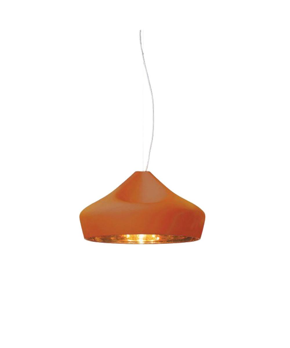Pleat Box 47 Pendel Terracotta-Gold - Marset