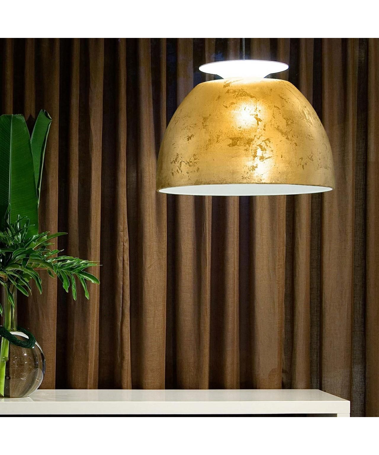 super bossa pendelleuchte gold lumini. Black Bedroom Furniture Sets. Home Design Ideas