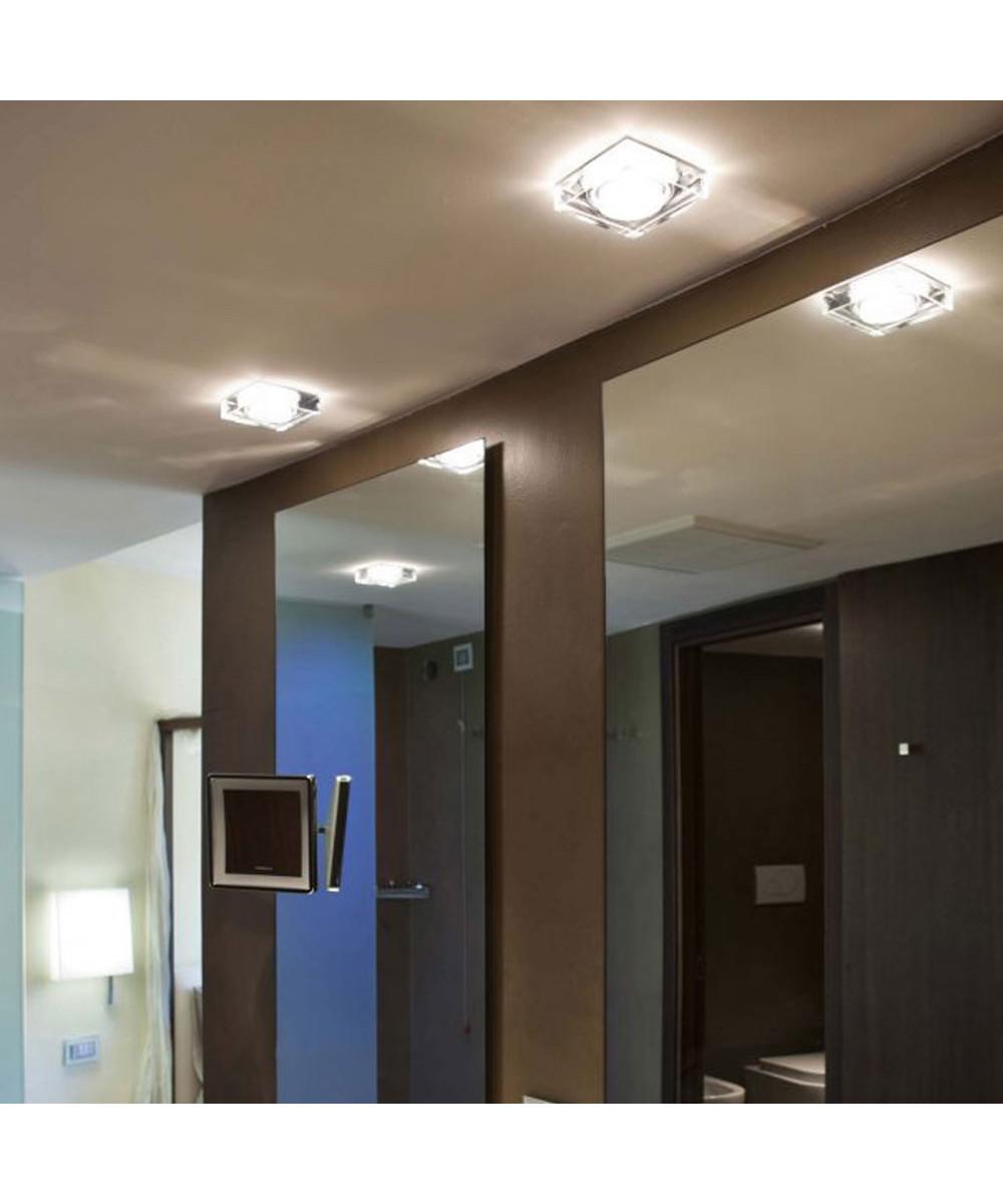 lui crystal 230v taklampe fabbian. Black Bedroom Furniture Sets. Home Design Ideas