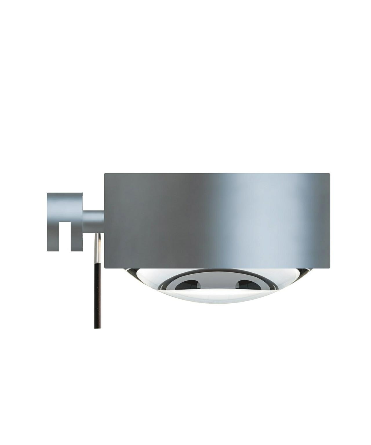 Puk Maxx Mirror Fix Vegglampe Halogen Mat Krom - Top Light