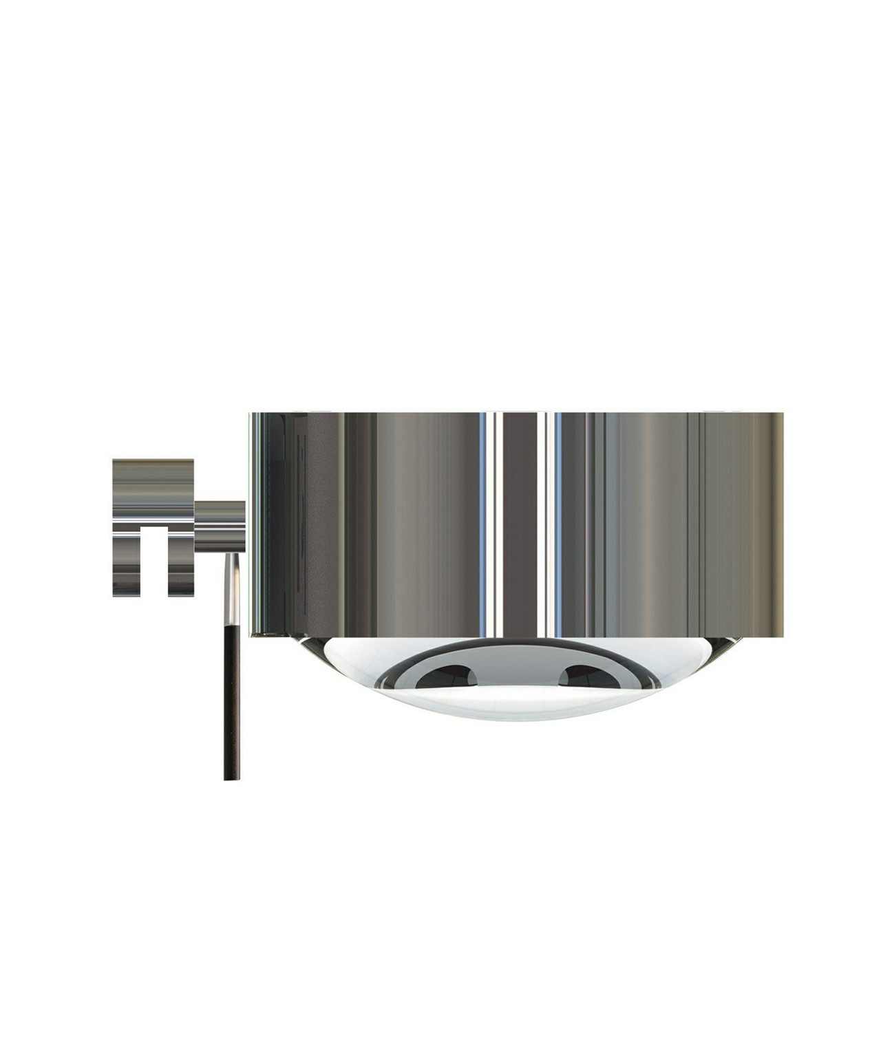 Puk Maxx Mirror Fix Vegglampe Halogen Krom - Top Light