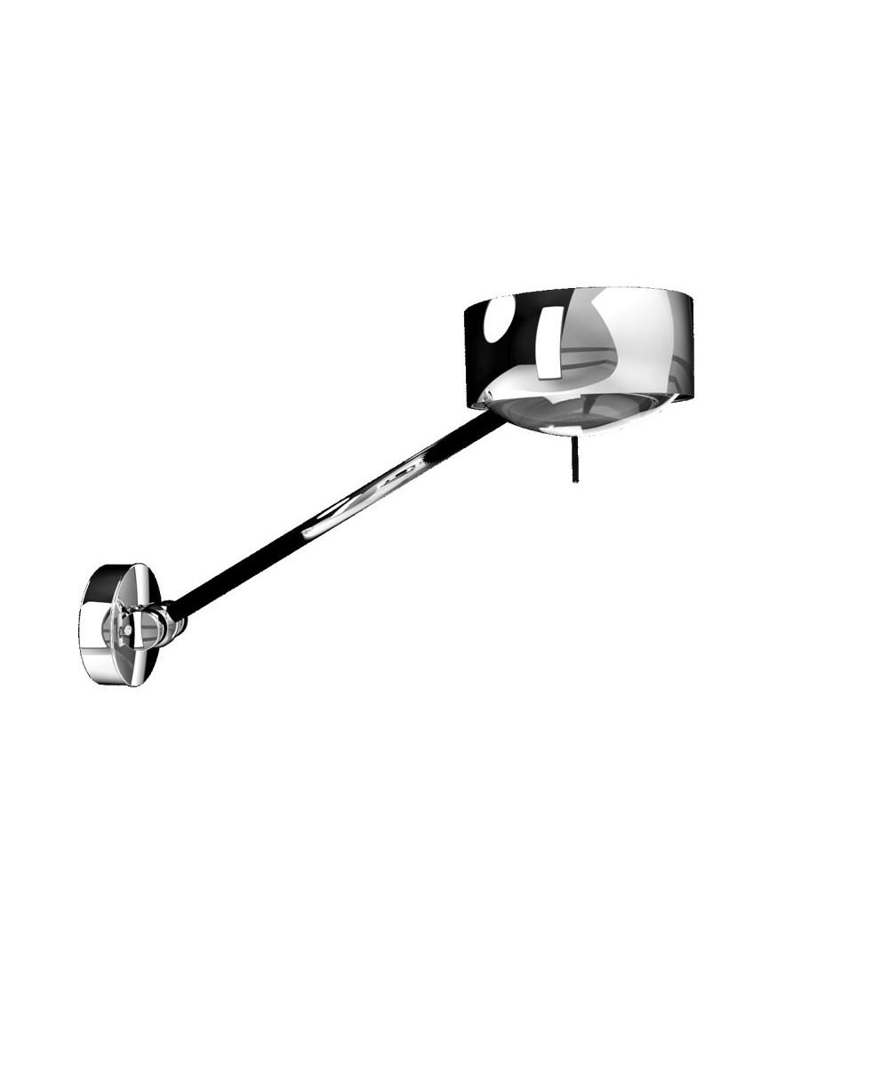 Puk Maxx Wing Single LED Væglampe Krom - Top Light