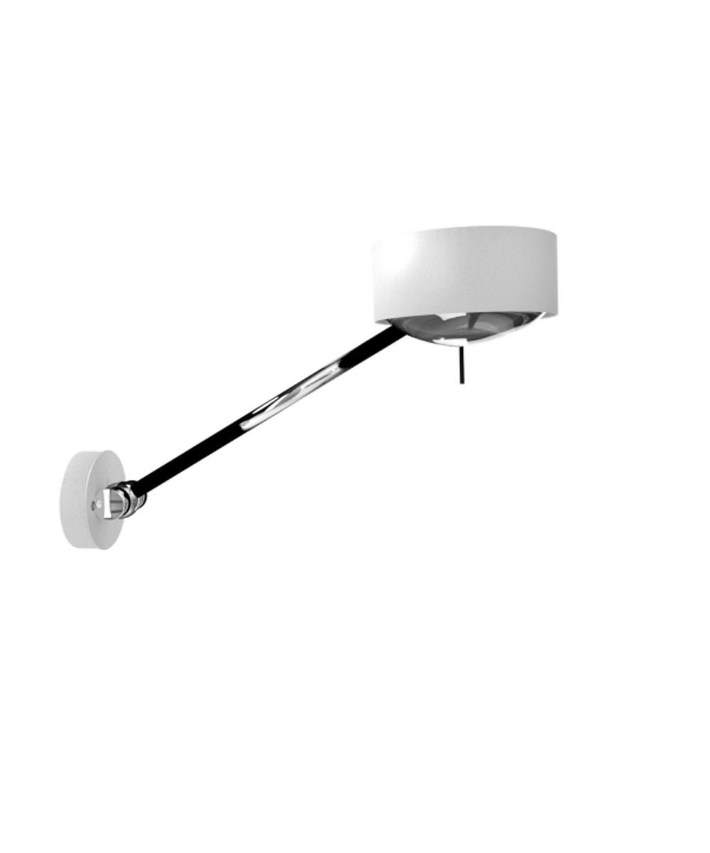 Puk Maxx Wing Single LED Væglampe Hvid - Top Light