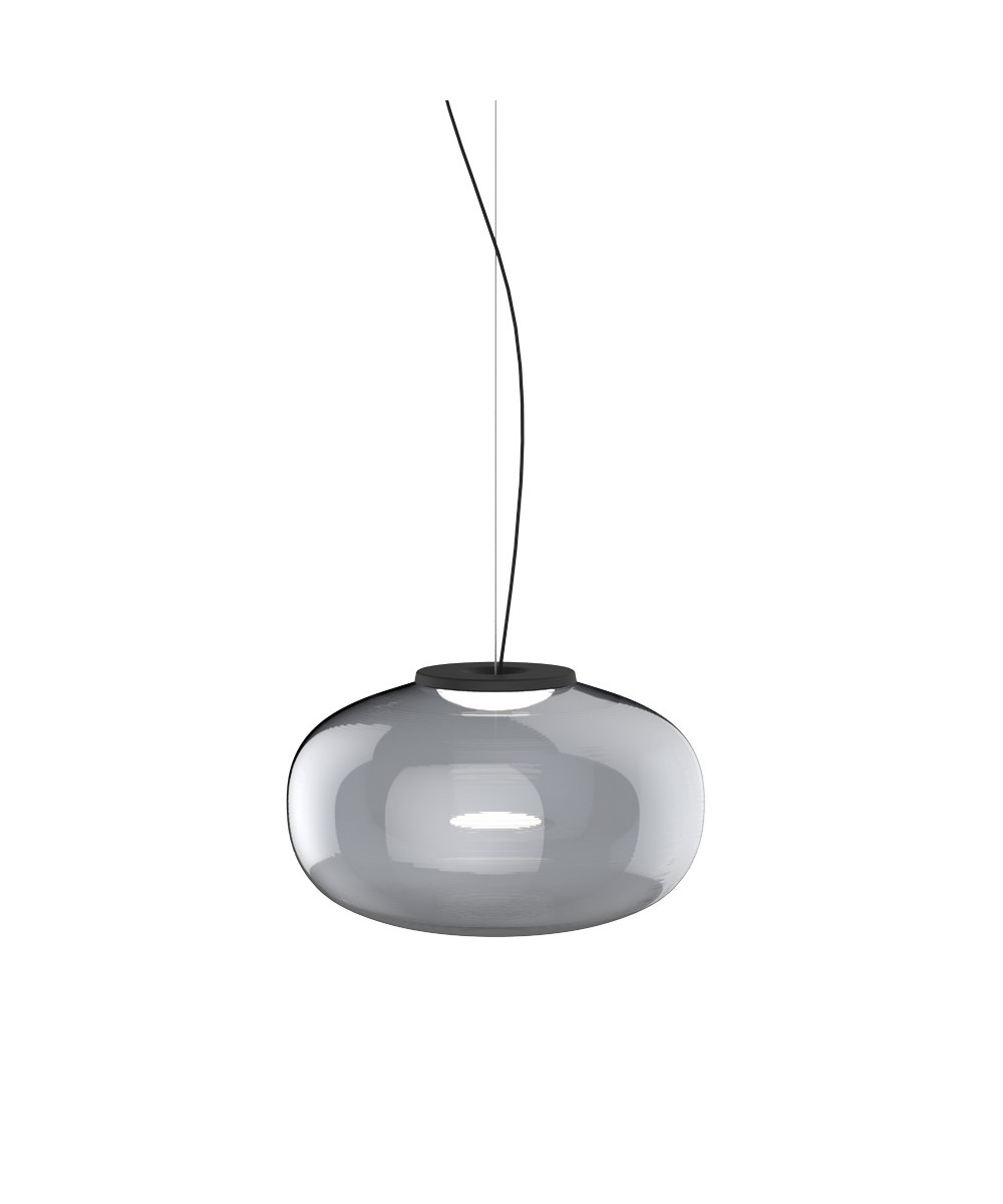 Image of   Karl-Johan Pendel Ø400 Smoked Glass - New Works