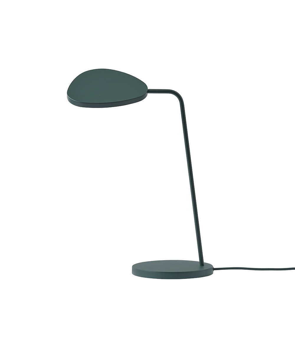 Leaf Bordlampe Dark Green - Muuto
