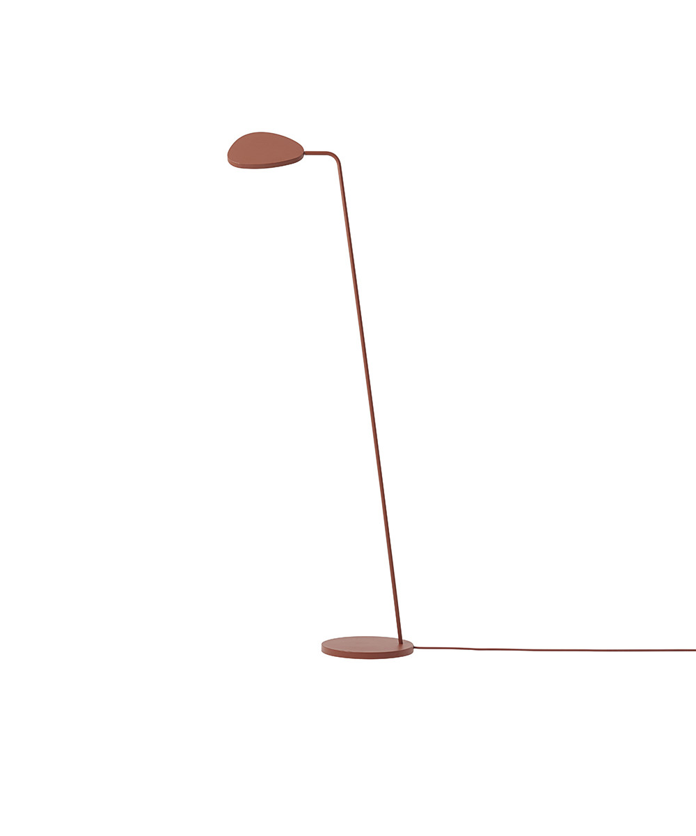 Leaf Gulvlampe Copper Brown - Muuto