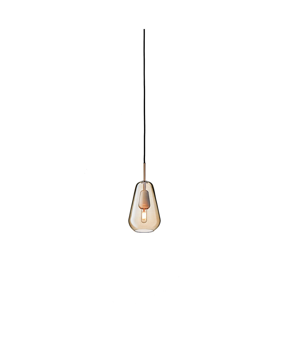 Image of   Anoli 1 Pendel Small Nordic Gold/Gold - Nuura