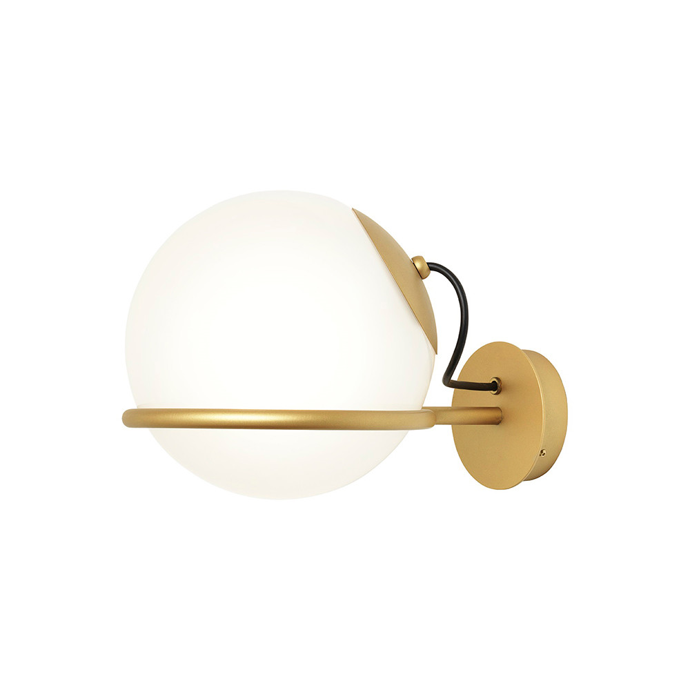 Bilde av Model 238/1 Vegglampe Ø20 Champagne W/switch - Astep