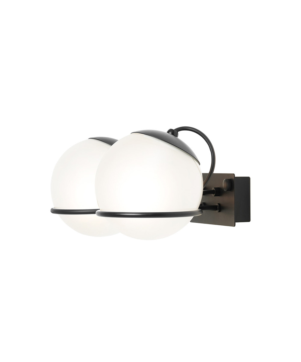 Bilde av Model 238/2 Vegglampe Ø20 Black - Astep
