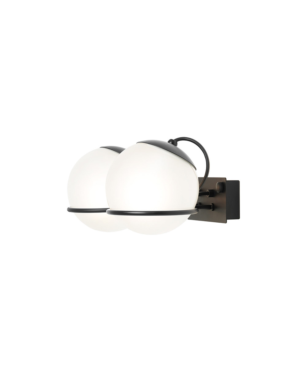 Bilde av Model 237/2 Vegglampe Ø14 Black - Astep