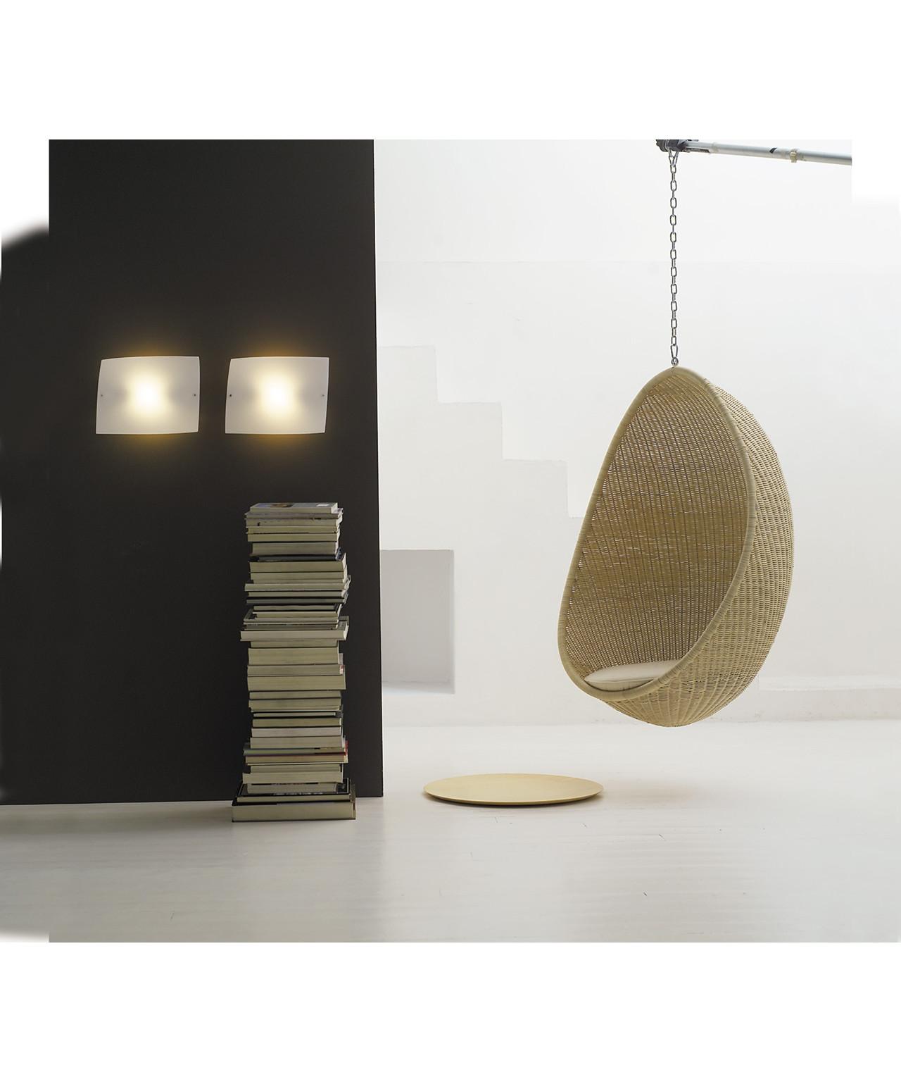 Folio Væglampe/Loftlampe Hvid - Foscarini