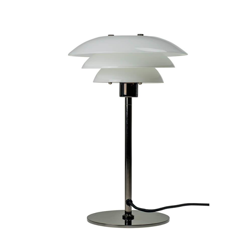 Image of   DL20 Bordlampe Opal/Gunmetal - DybergLarsen