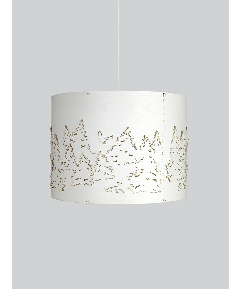 norwegian forest gro pendelleuchte wei northern lighting. Black Bedroom Furniture Sets. Home Design Ideas