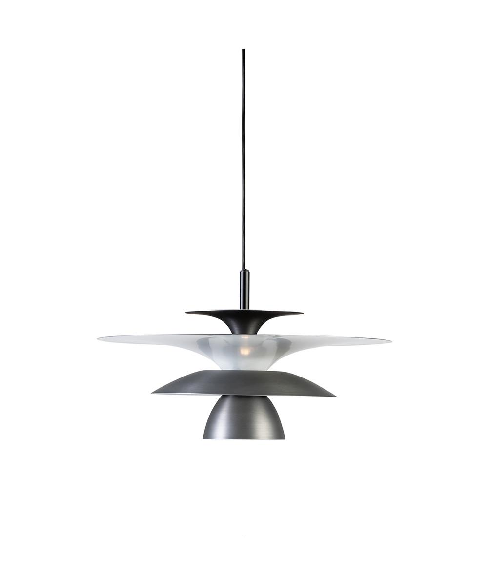 Picasso Pendel Oxidgrå Ø380 LED - Belid