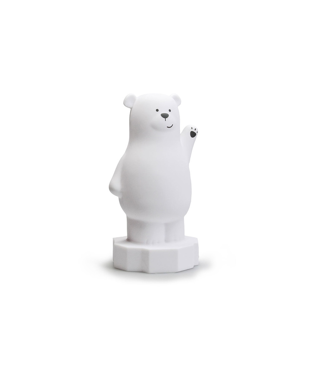 Bilde av Bear Lou Medium Led White - Atelier Pierre Junior