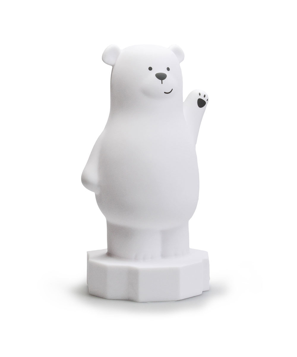 Bilde av Bear Lou Night Light White - Atelier Pierre Junior