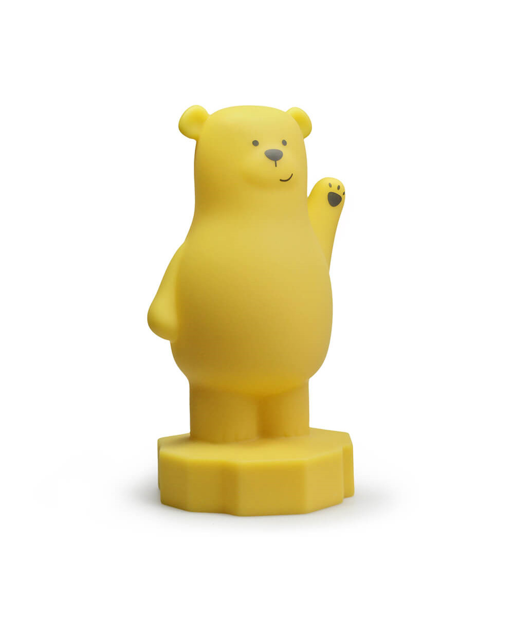 Bilde av Bear Lou Night Light Curry - Atelier Pierre Junior